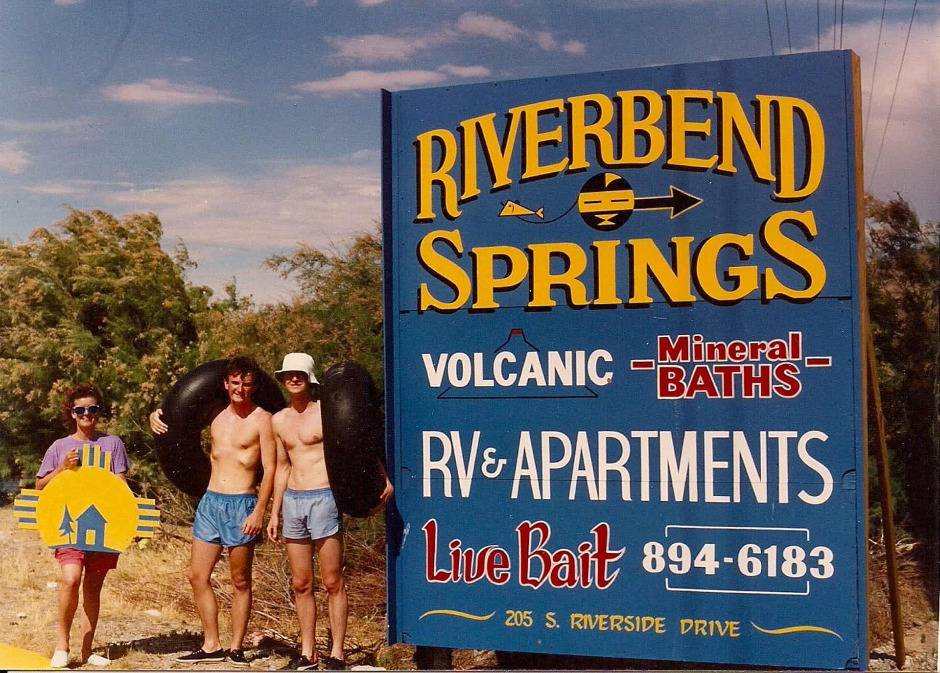 Riverbend Sign 1990